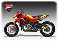 Ducati Hypermotard в стил Роси – концепция на Обердан Беци